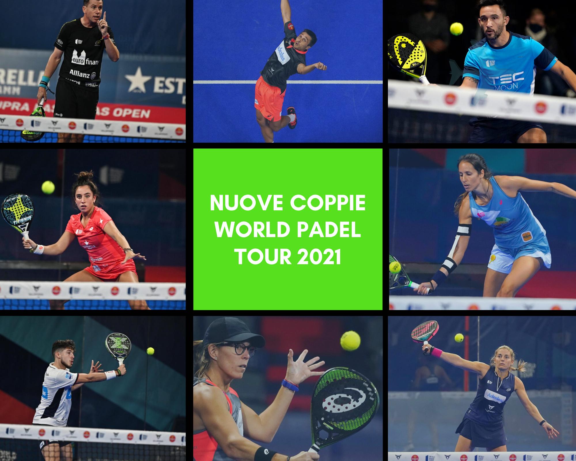 Le nuove coppie World Padel Tour 2021