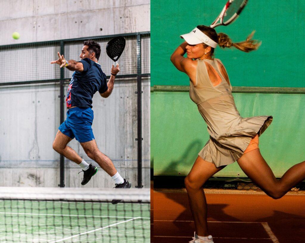 6 differenze tra padel e tennis